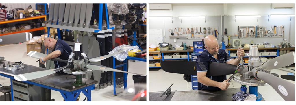 propeller overhaul, propeller repairs, aircraft maintenance, hartzell, mccauley, propeller